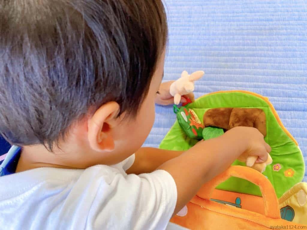 おもちゃのサブスクから届いたおもちゃ